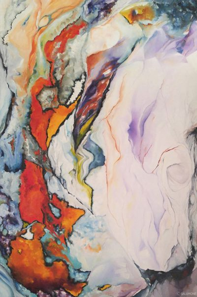 Emerging - Original oil painting