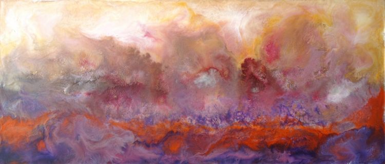 Fertile Ground - Encaustic Painting