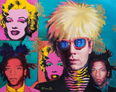 Andy Warhol - Canvas Oil Painting