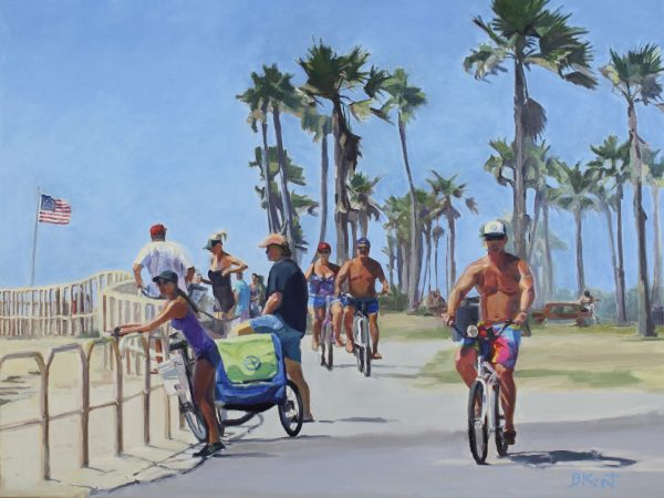 Beach Bodies - Oil Painting on Canvas