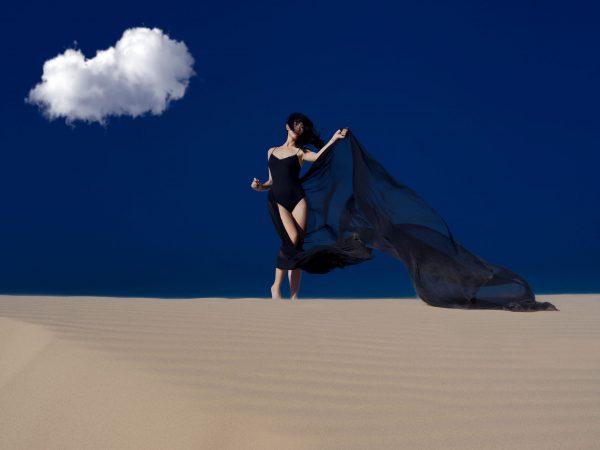 Desert Shadow - Fine Art Photography Print