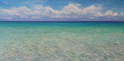 Caribbean Reflections - 1 Oil on Canvas