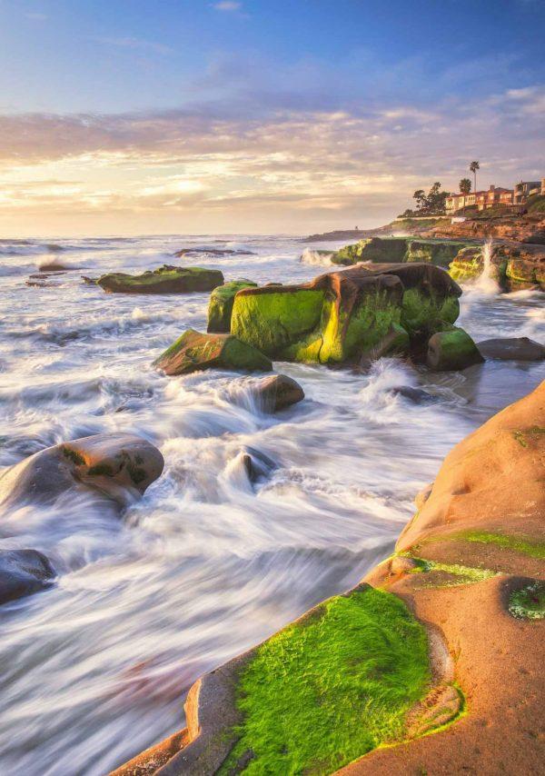 Early Spring Tide in La Jolla