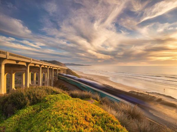 Coaster Bullet Train - Fine Art Photography