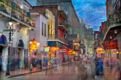 Bourbon Street - Fine Art Photography